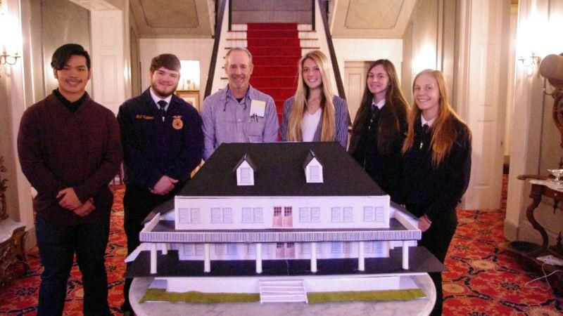 Maury County History Museum model