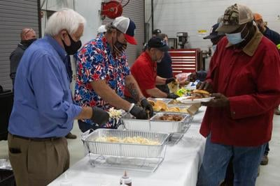 Williamson County Commissioners Williamson County Highway Department  BBQ lunch 2021 1