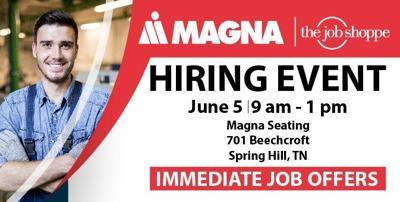 Magna hiring event