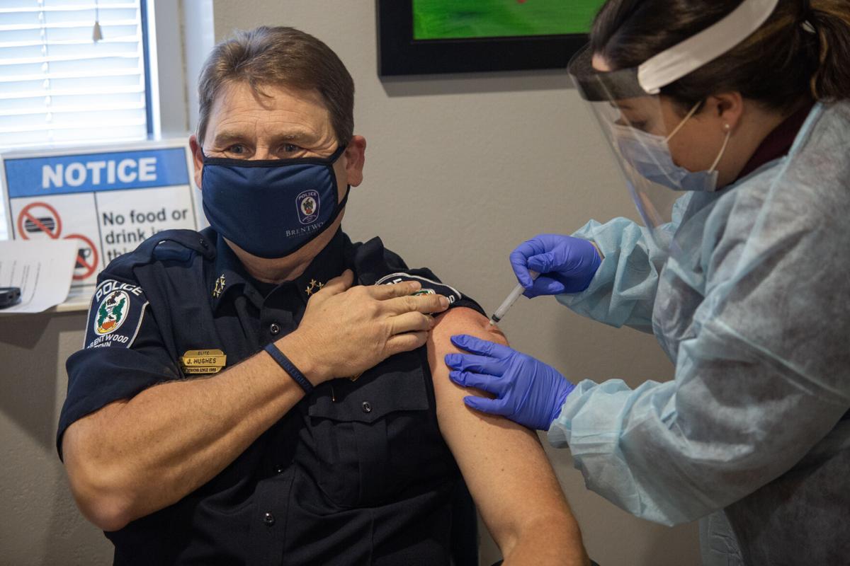 Brentwood Police Chief Jeff Hughes Vaccine 2020.jpg