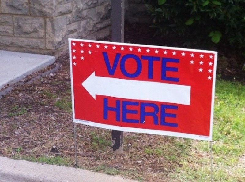 voting-sign-vote-here