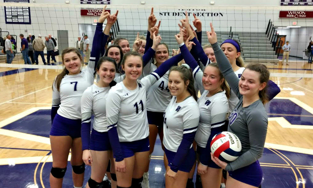 WHS volleyball sectional