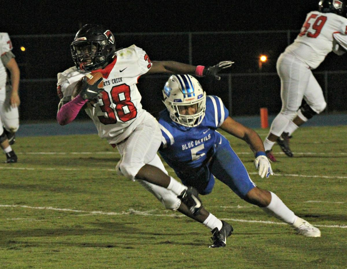 Early big plays carry Stewarts Creek past Lebanon 17-7