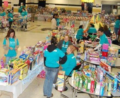 Christmas storeFor more than two decades, Big Brothers of Mt. Juliet has supplied Christmas toys for more than 1,000 children through their Mother's Toy store. COURTESY BIG BROTHERS
