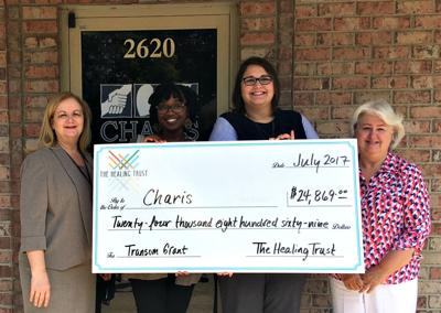 Charis receives grant from The Healing Trust