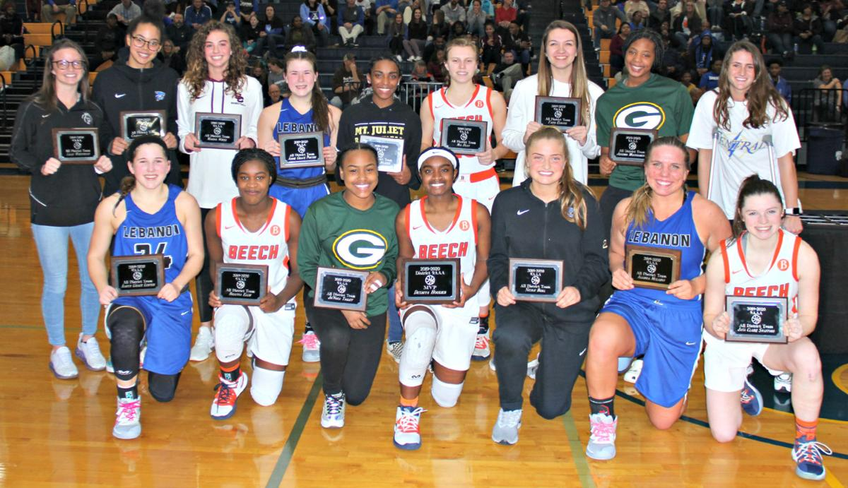 All District 9-AAA Team
