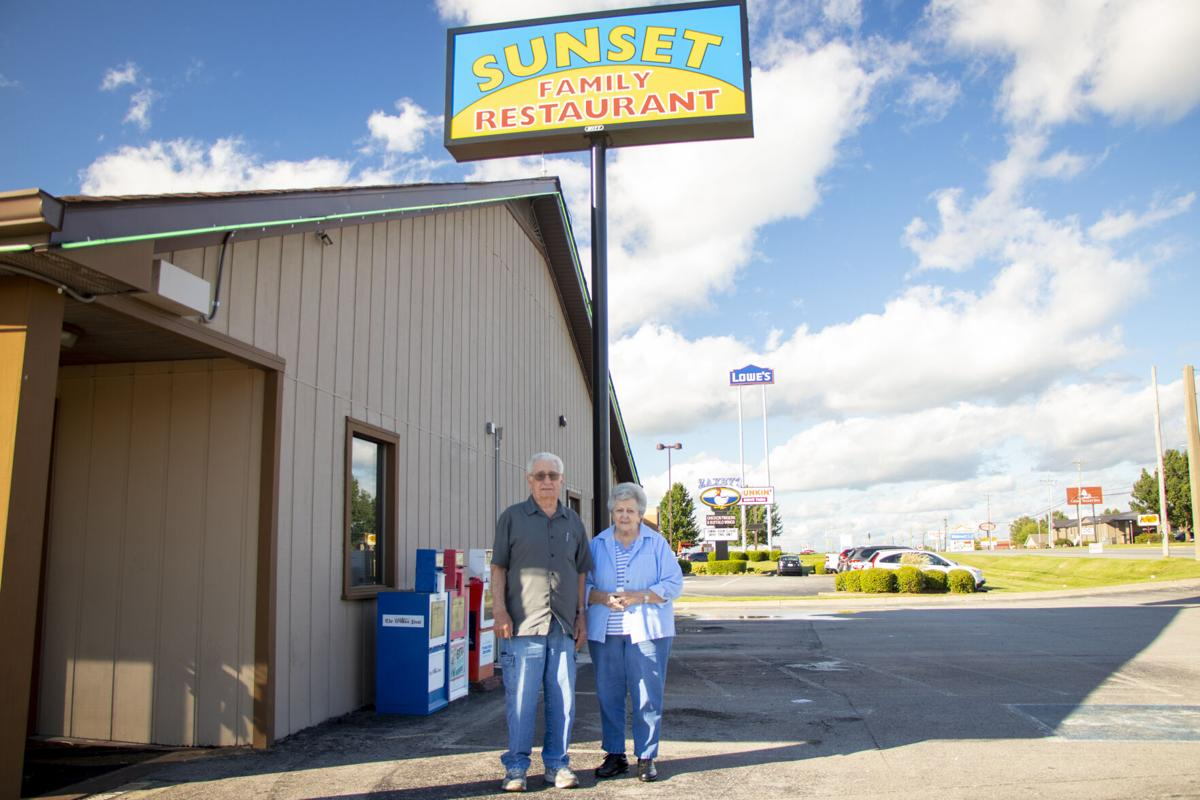 Bob and Virginia Hodge, Sunset owners