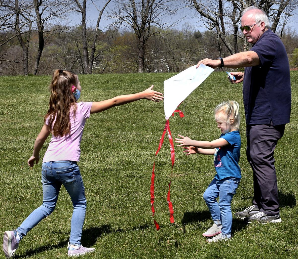 Kiting with Granddad