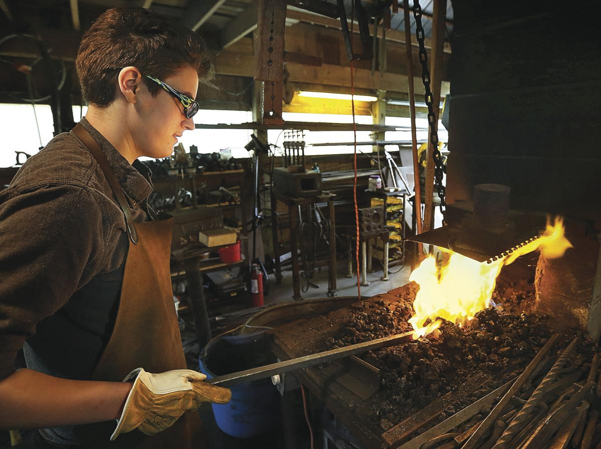 Local blacksmiths forge ahead with old-time craft | Features