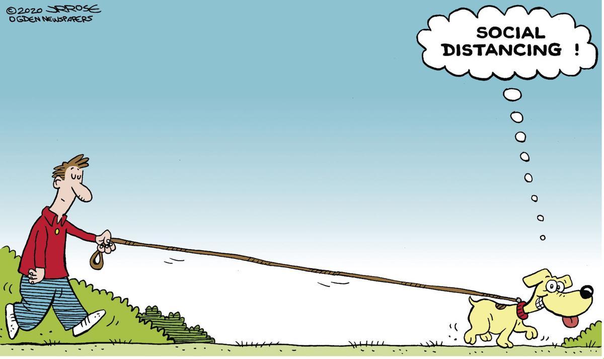 Cartoon: Social distancing | Opinions | winchesterstar.com