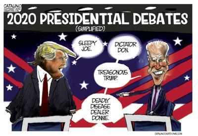 Cartoon: Presidential debate