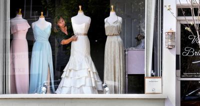 Display befits a bride