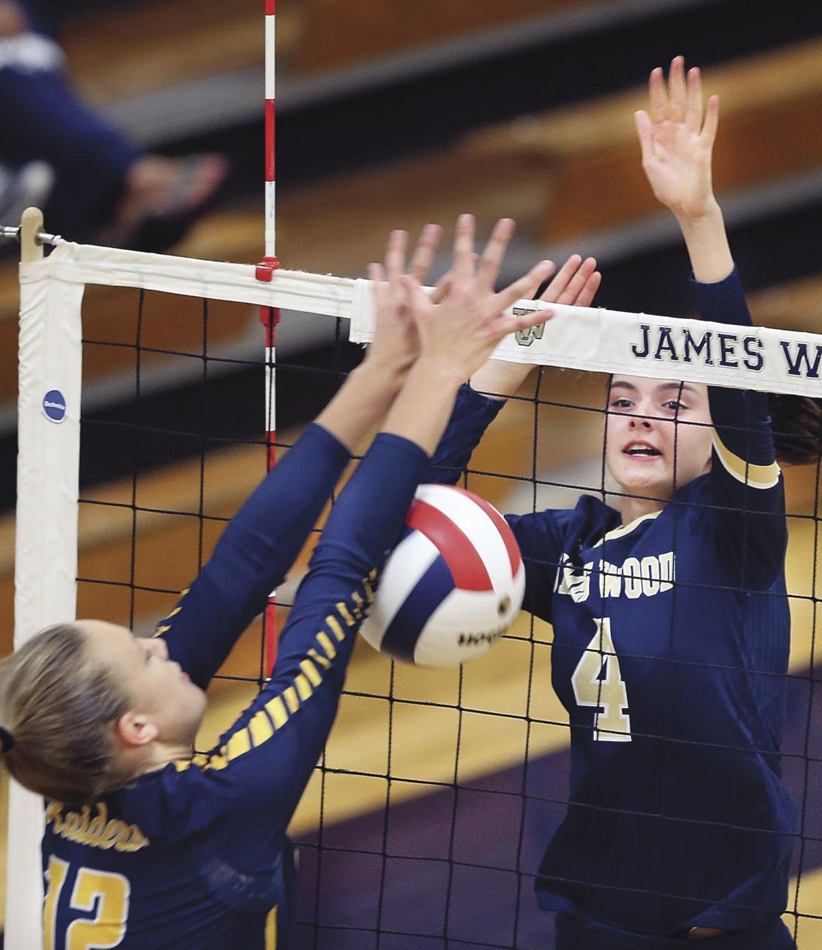James Wood Falls In Volleyball Sweep Against Loudoun County High School Winchesterstar Com