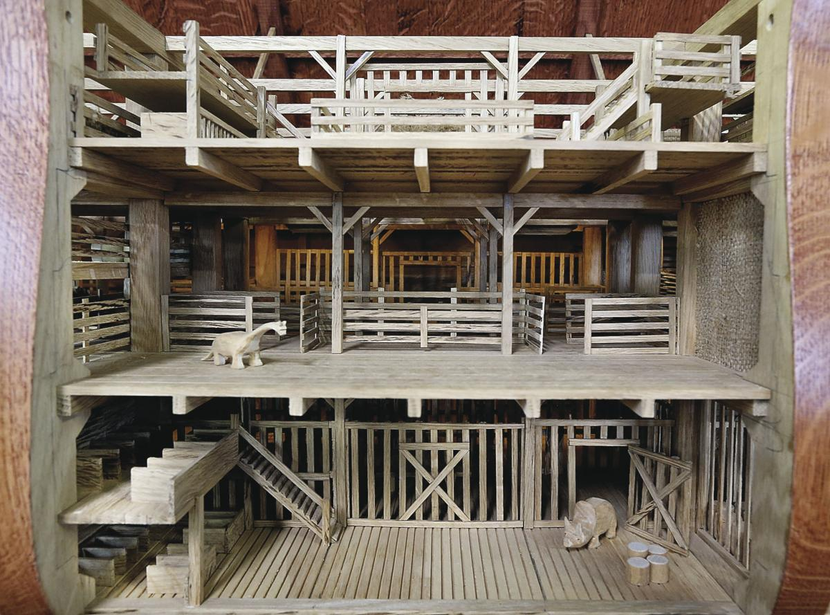 Ark Wood Elevator second ark a first-rate build | news | winchesterstar