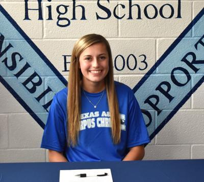Tori Johnson signing