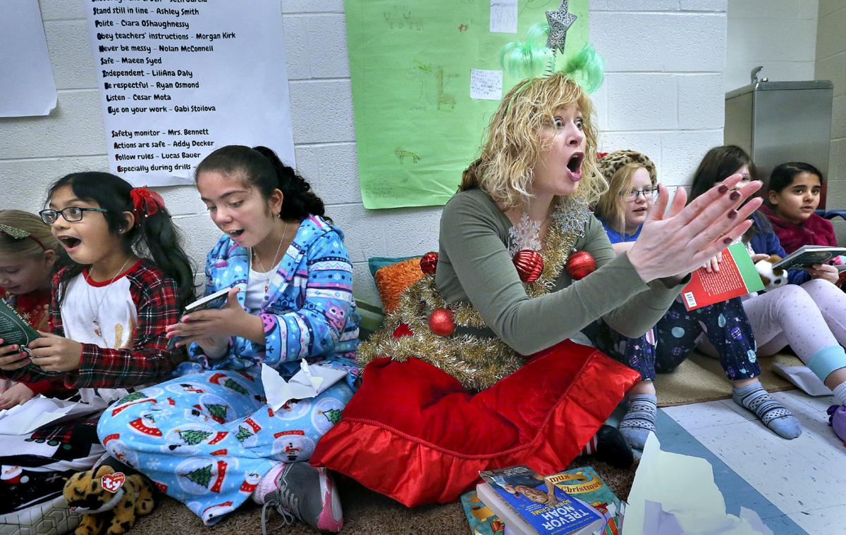 Armel Students Surprised With Blizzard Of Books Winchester Star