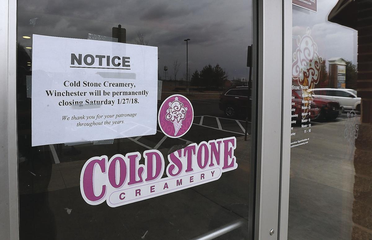 Cold Stone Creamery closes