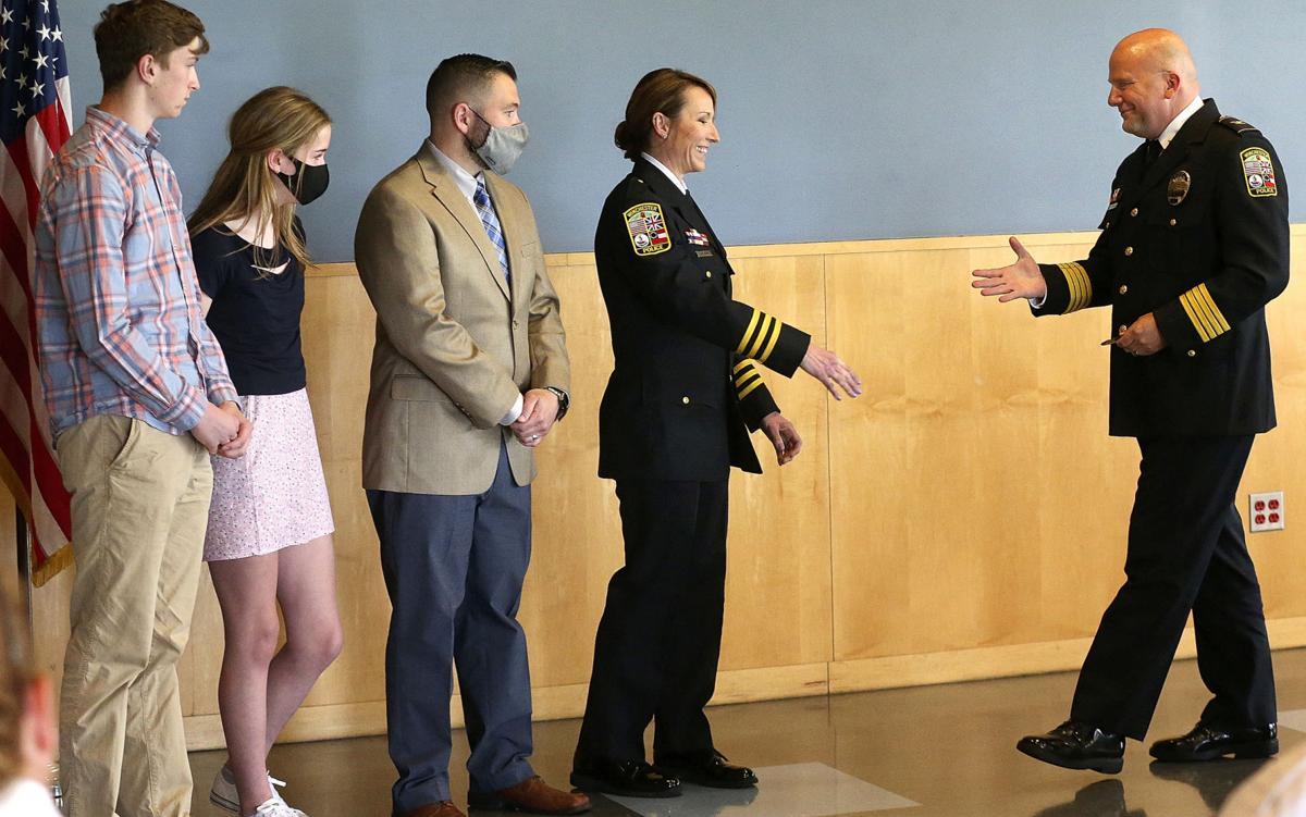 Officer Honored