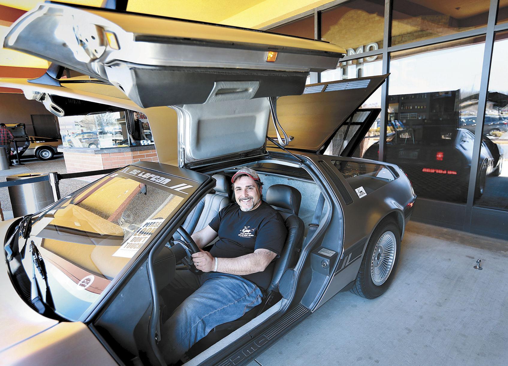 The futuristic DeLorean still fascinates car lovers & Futuristic DeLorean still fascinates car lovers | News ...