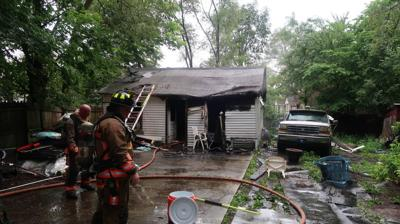 No one injured in residential garage fire