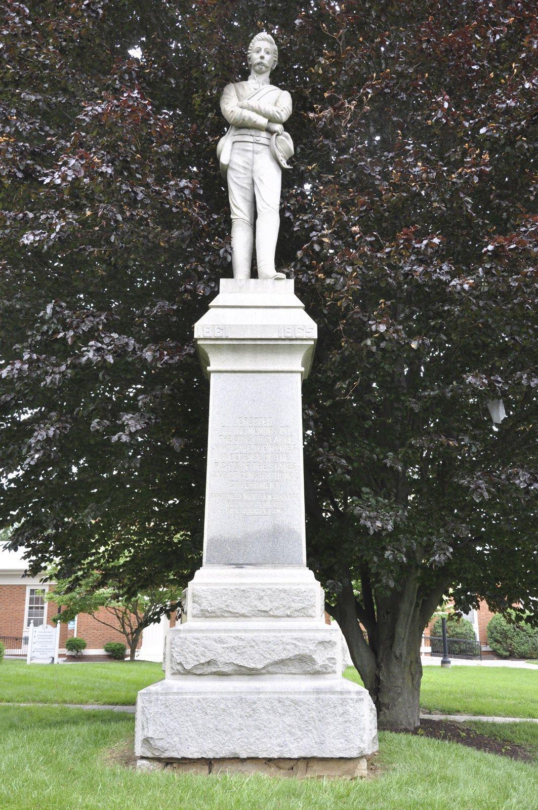 Confederate Statue