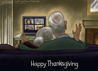 Cartoon: Happy Thanksgiving