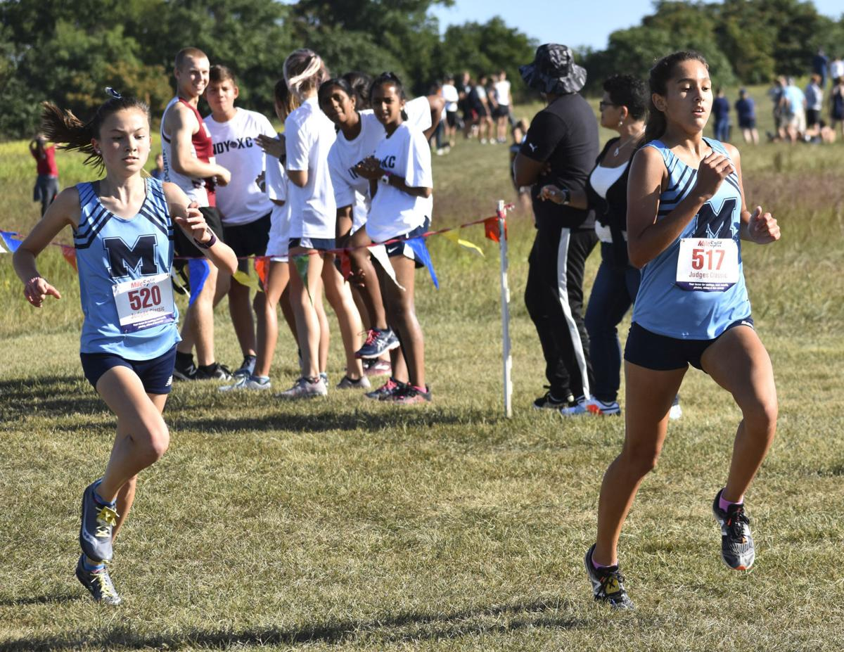 Millbrook girls XC action