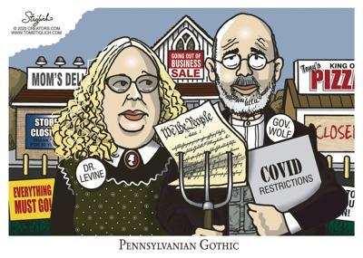 Cartoon: Pennsylvanian Gothic