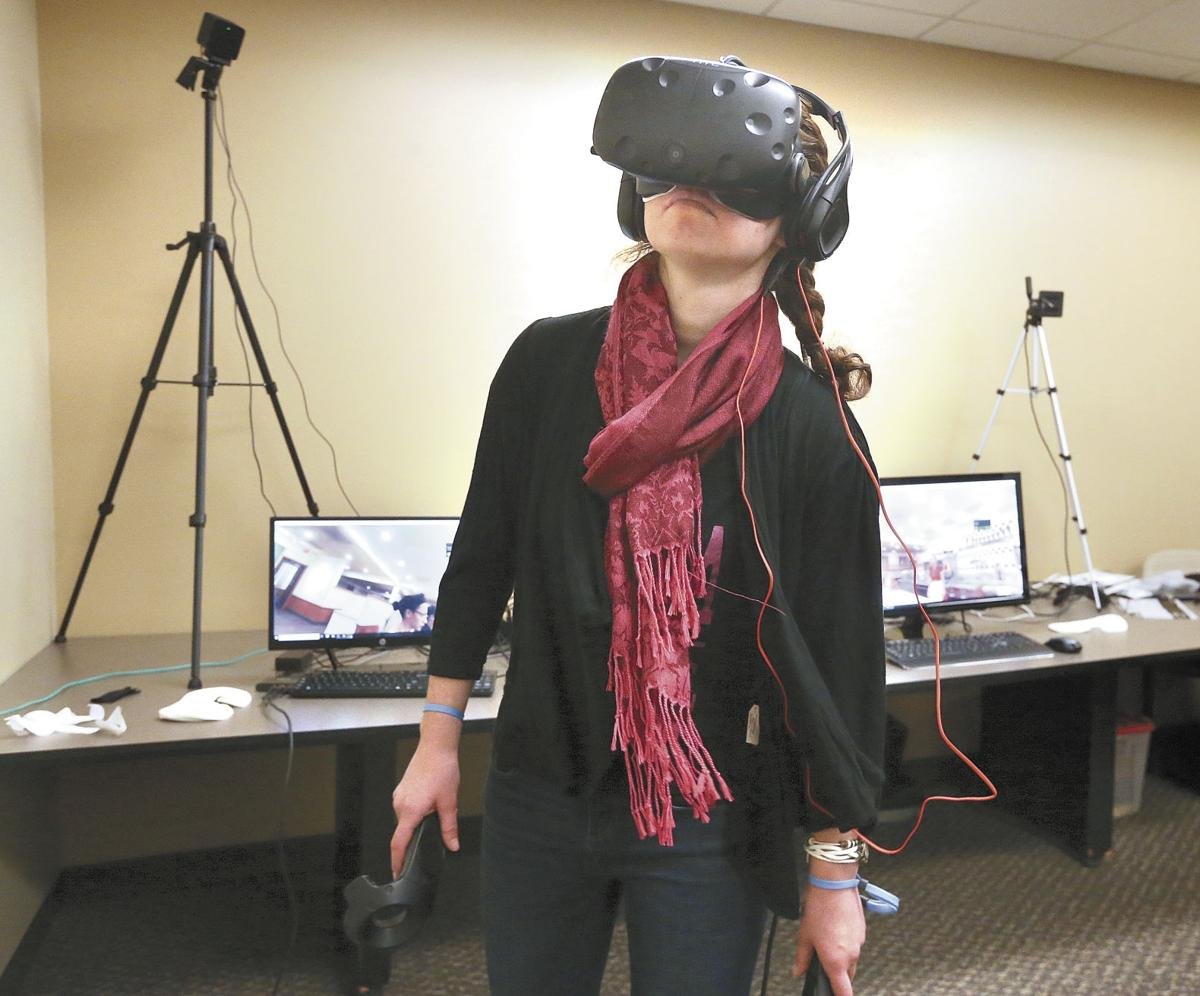 Virtual reality video teaches history lesson