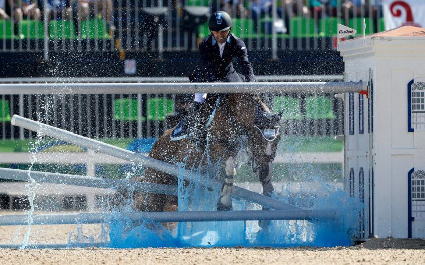 Local man's horse still chasing a medal in Rio