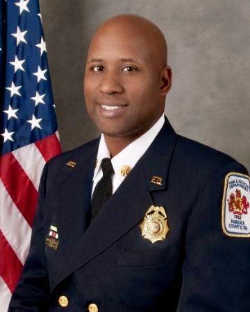Fire and Rescue Chief William Garrett