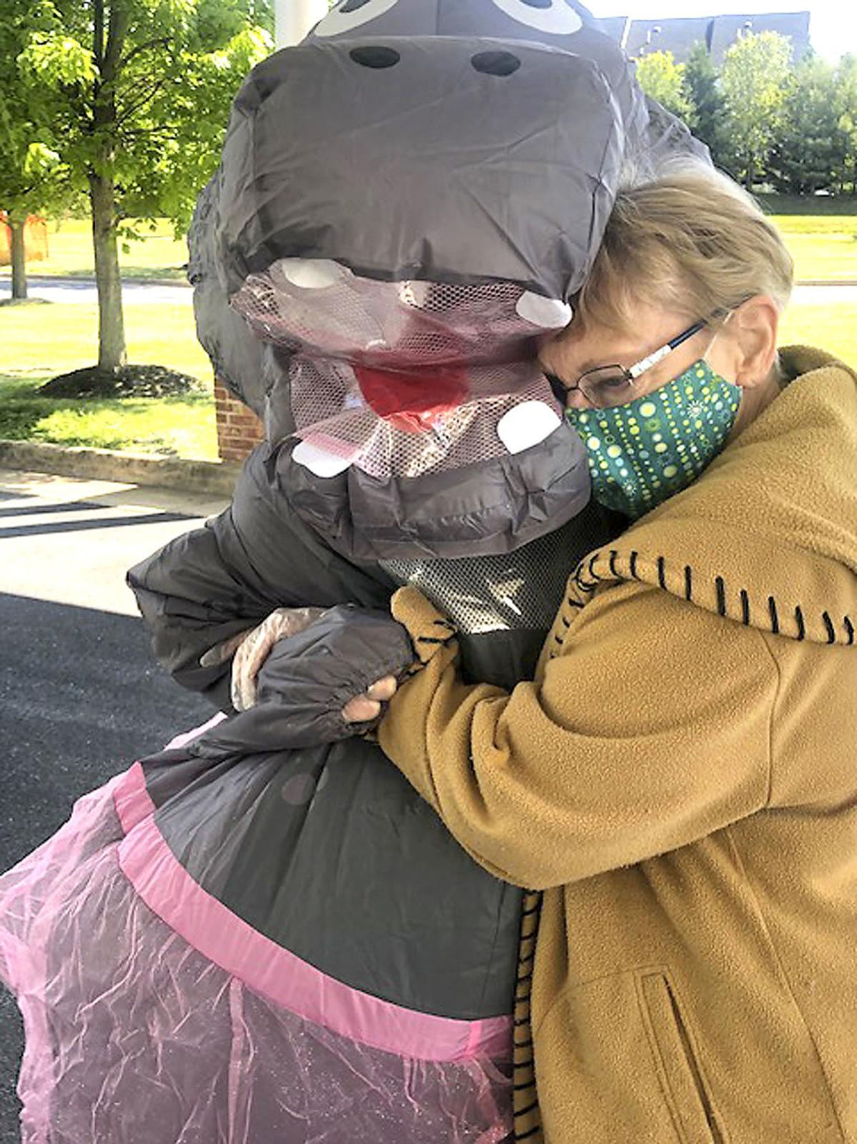 Stephens City Halloween 2020 Squish Day at Fox Trail allows loved ones to embrace for 1st time