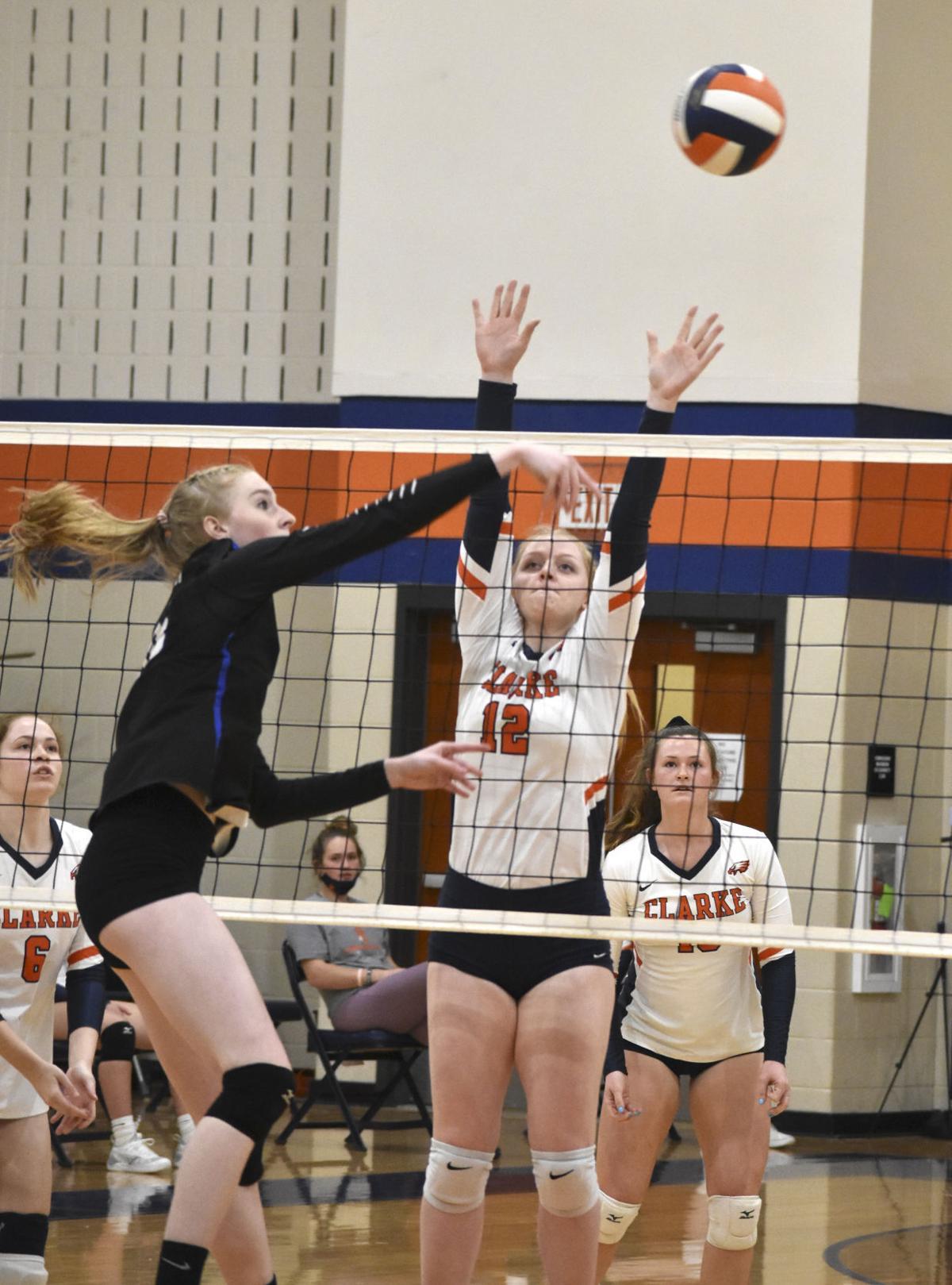 Clarke volleyball