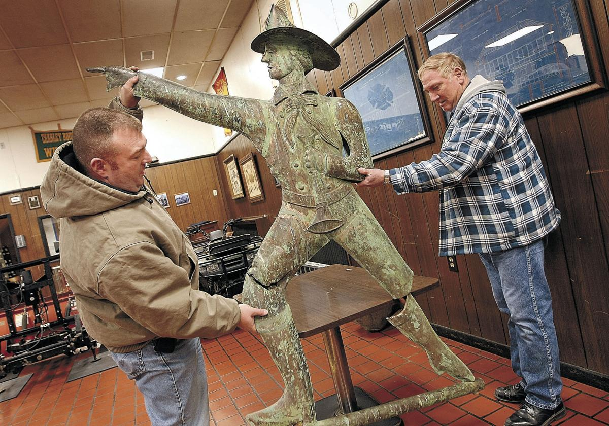 Fire company seeks aid to revive old friend