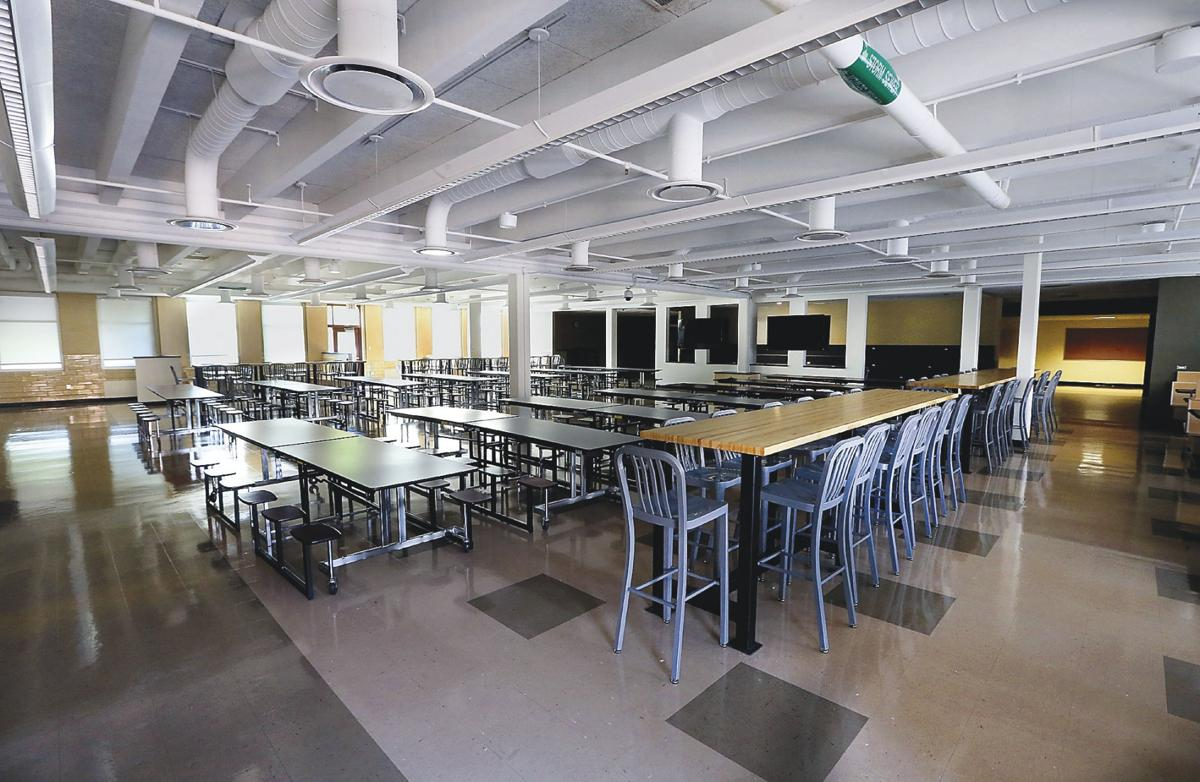 handley high school has cafeteria remodeled
