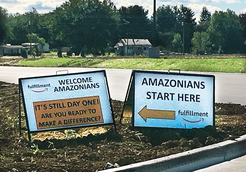 NEW: Amazon Distribution Center is gearing up in Frederick