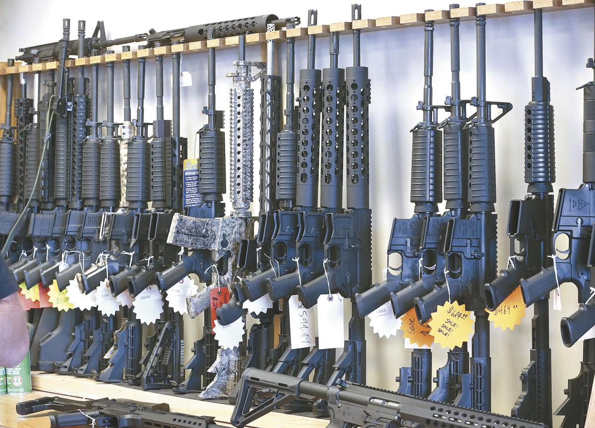 Gun supporters defend assault weapons for protection
