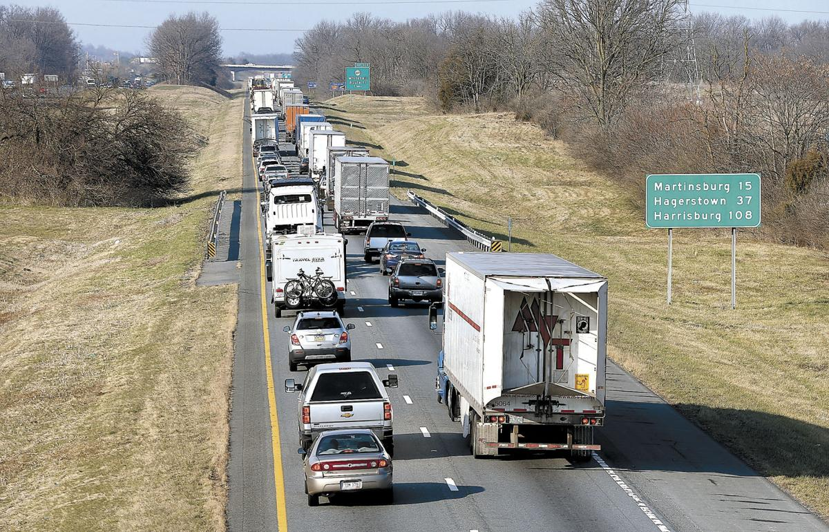 Planned West Virginia I-81 repairs back up traffic into