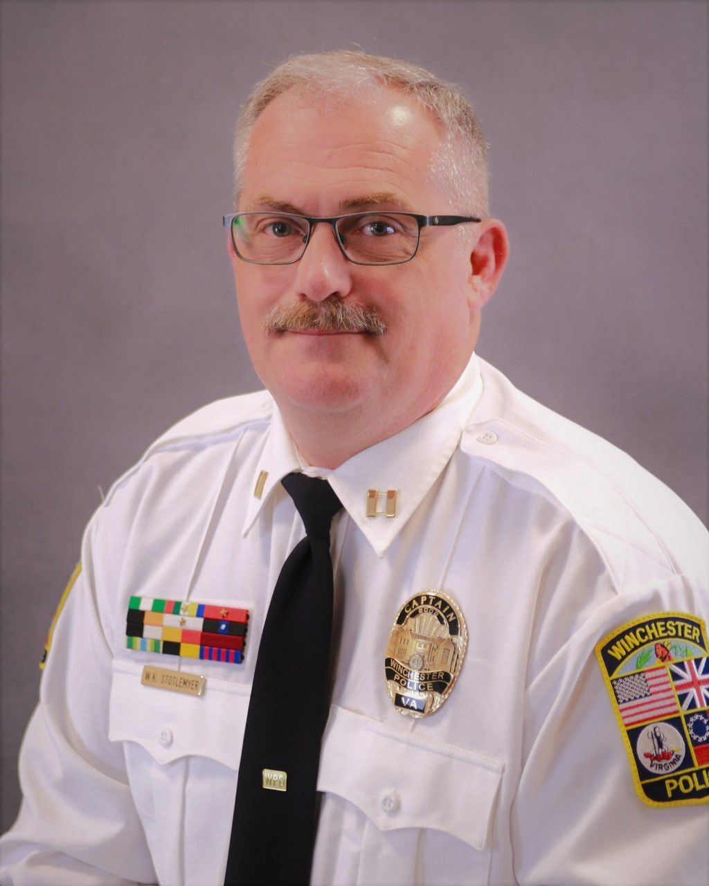 Stotlemyer promoted to captain