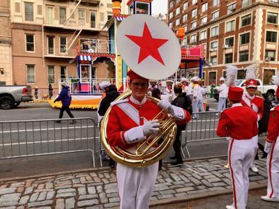 Macy's Parade student
