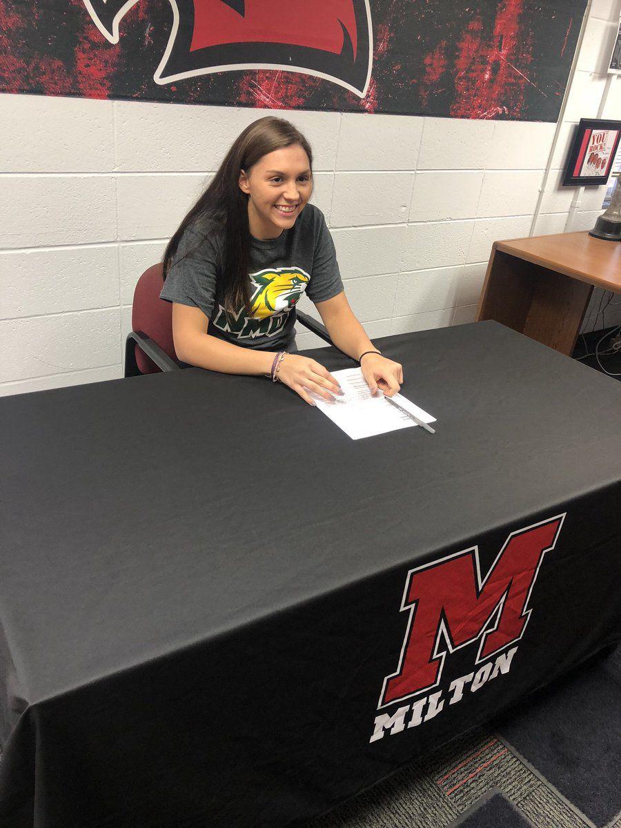 2018 Fall Signing Day | Taylor Hakala, Milton | Northern Michigan