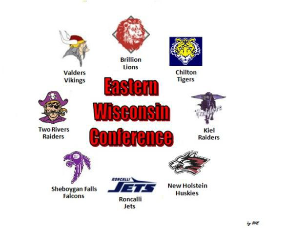Eastern Wisconsin Conference logo