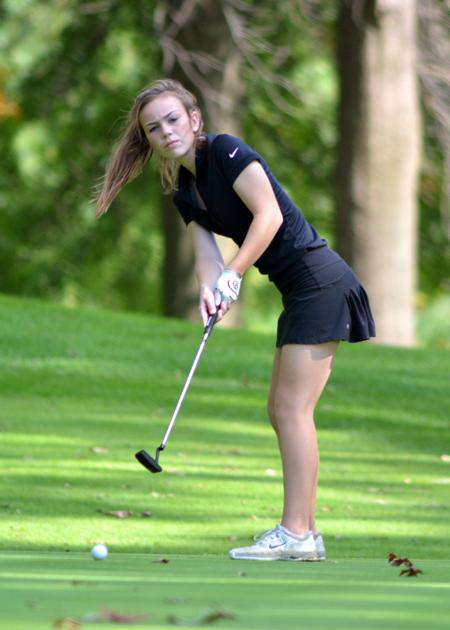 2017 Hs Girls Golf Preview Badger North Conference  Wiaa -8332