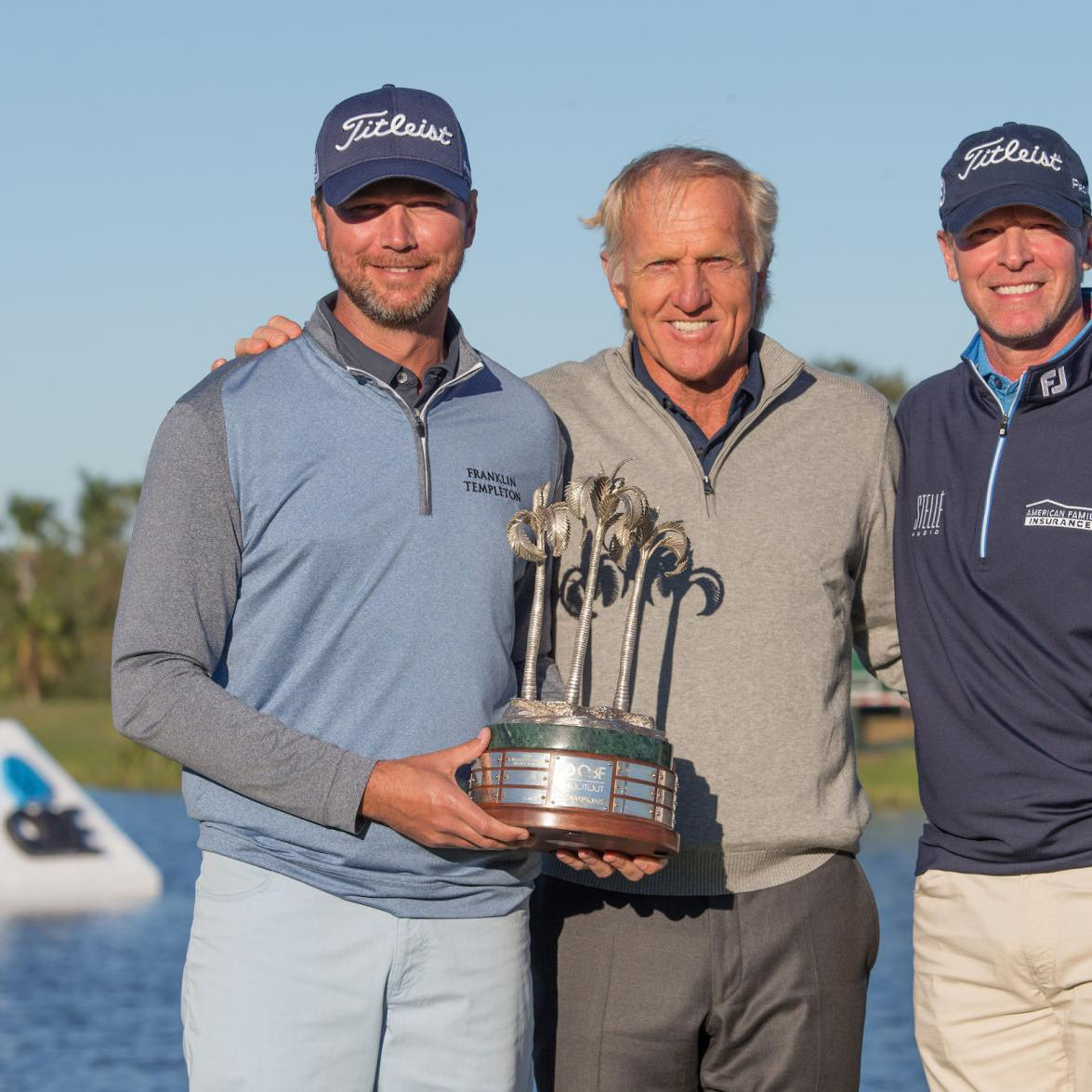 Drawing inspiration from his mentor and partner, Sean O'Hair teams with Madison's Steve Stricker to win QBE Shootout