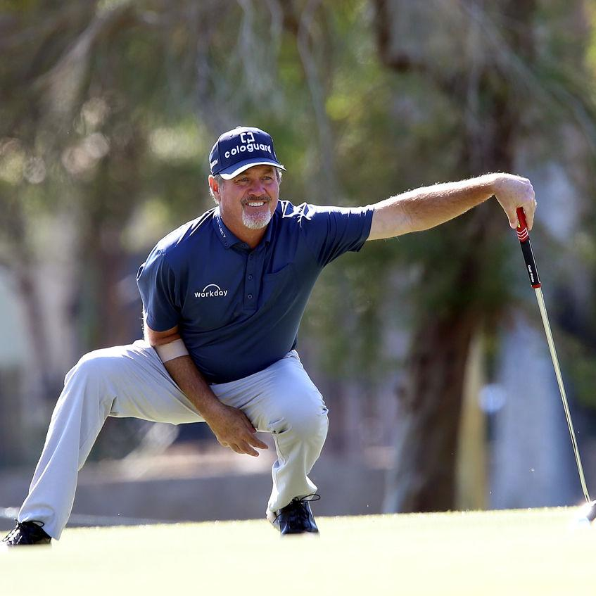 Tough way to finish as Madison's Jerry Kelly winds up 10 strokes behind runaway winner Vijay Singh at Charles Schwab Cup Championship