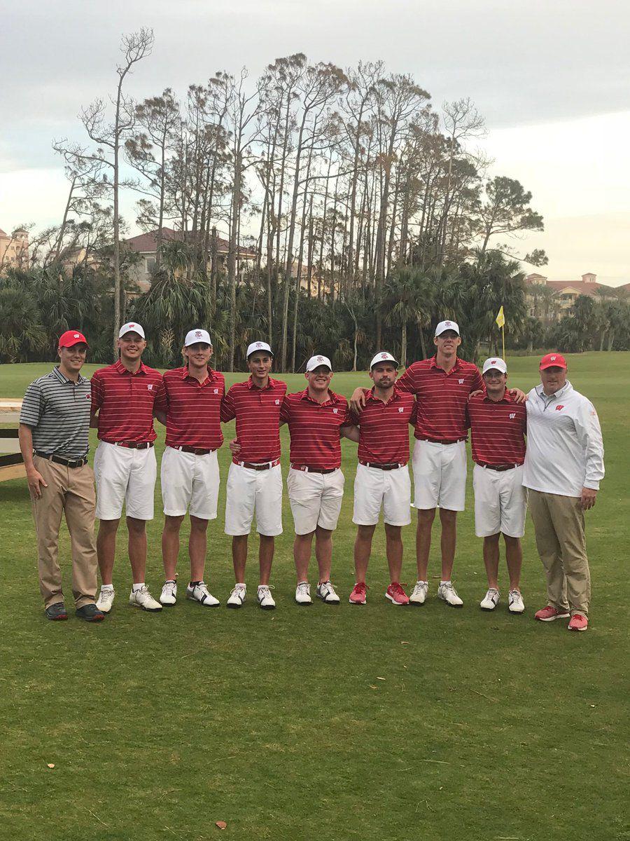 Badgers men's golf team | 2018 Big Ten Match Play