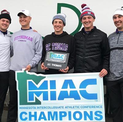 Jack Ritchay, Emmet Herb   2018 MIAC Champions St. Thomas