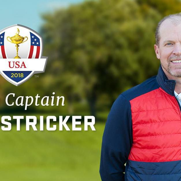 Prelude to a captaincy at Whistling Straits? Madison's Steve Stricker named Ryder Cup vice captain for the third time