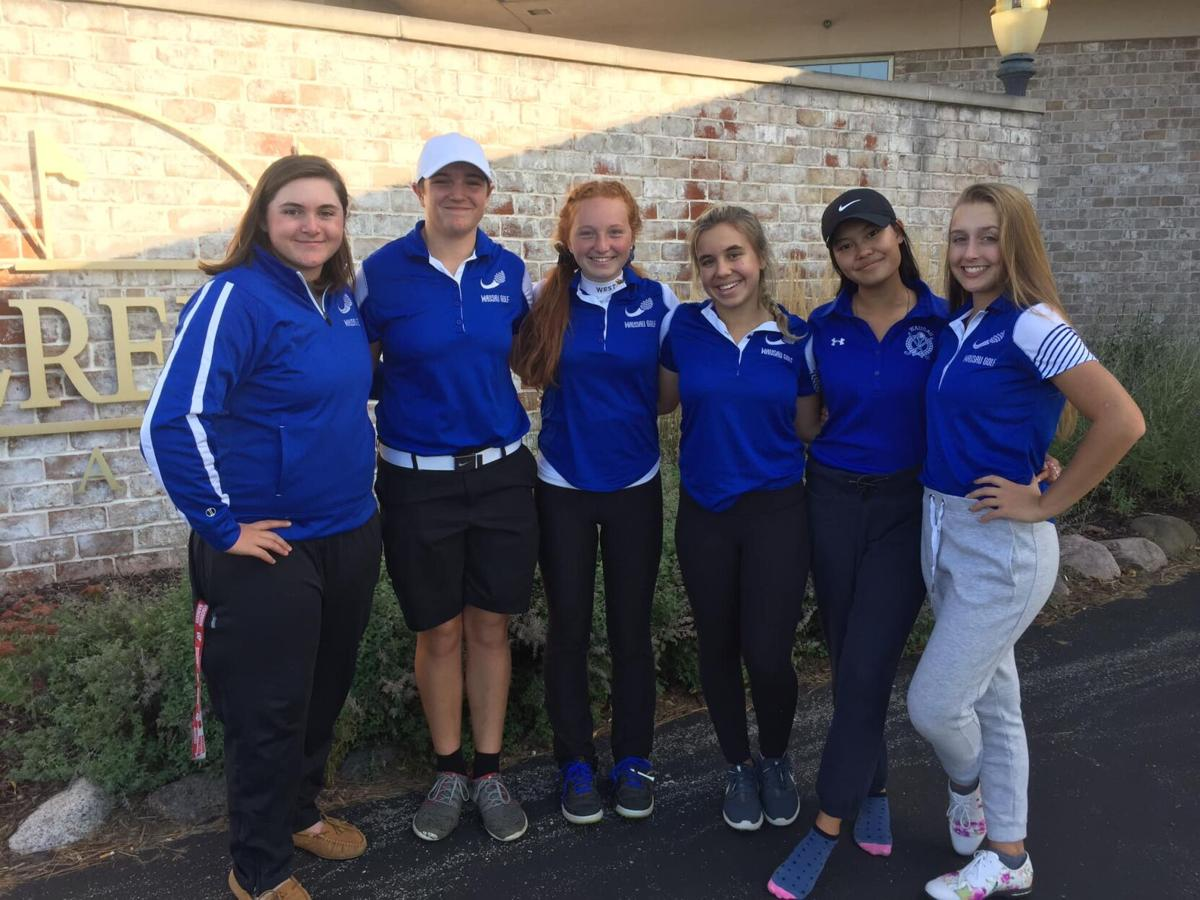 2019 Wausau girls golf team | WIAA Division 1 Notre Dame sectional