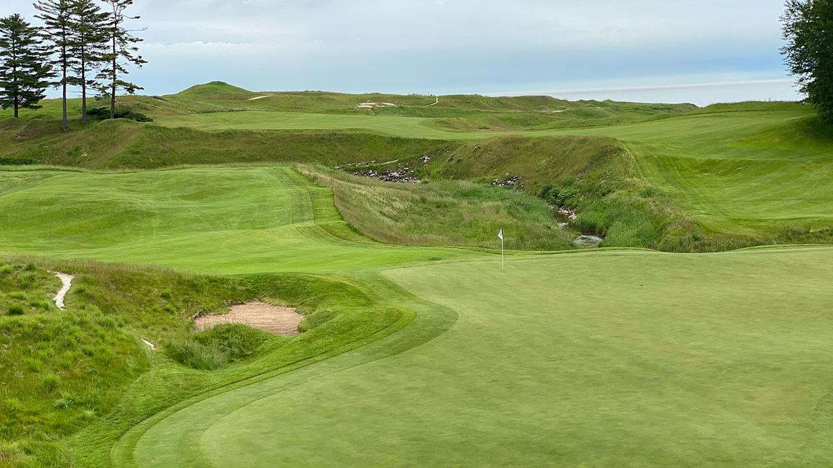 Whistling Straits 18th hole (June 22, 2020)